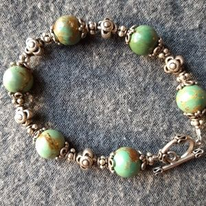 Jewelry - Turquoise and Sterling bracelet